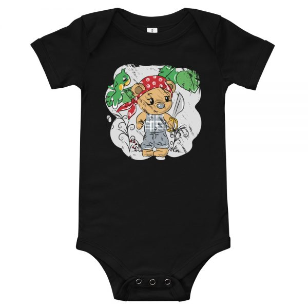 Tendy Bear Pirate Baby T-Shirt
