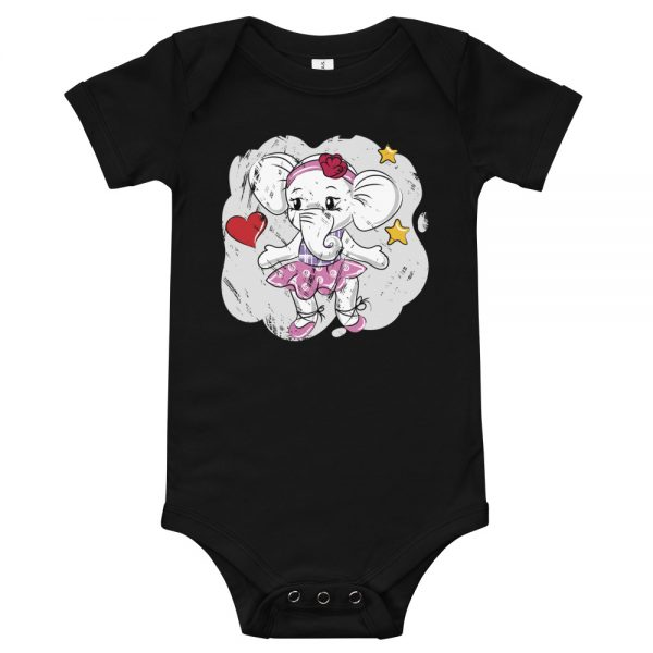 Love Elephant Baby T-Shirt
