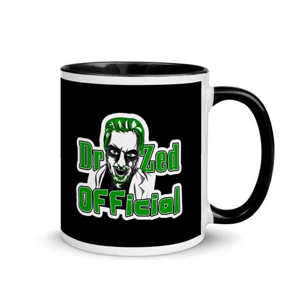 Dr Zed Mug with Black Color Inside